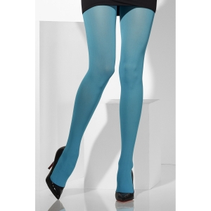 Opaque Tights - Pale Blue