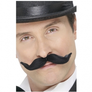Adjustable Moustache - Black