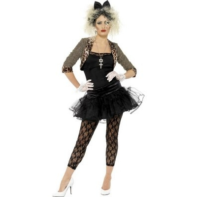 80's Wild Child Costume - Madonna Style title=