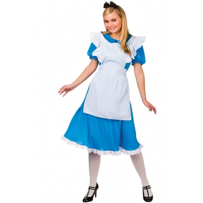 Storybook Alice In Wonderland Style Costume title=