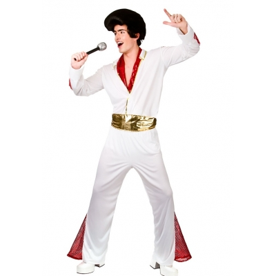 King of Rock N' Roll Costume - Elvis Style title=