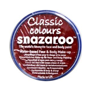Snazaroo - Burgundy 18ml
