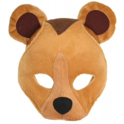 Bear Mask on Headband + Sound title=