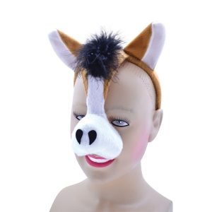 Horse Mask on Headband + Sound