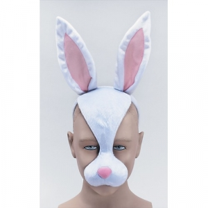 Rabbit Mask on Headband + Sound