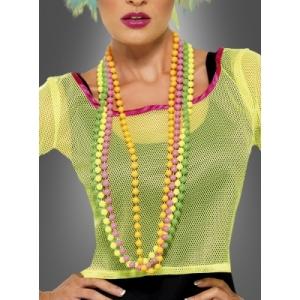 80's Neon Beads Necklace