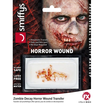 Horror Wound Transfer - Zombie Decay title=