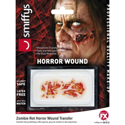 Horror Wound Transfer - Zombie Rot title=
