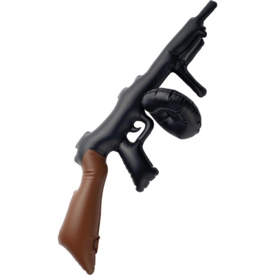 Inflatable Tommy Gun title=