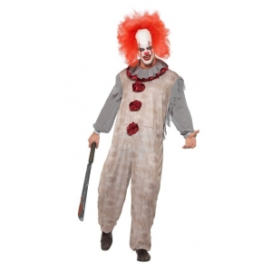 Vintage Clown Costume - Pennywise Style
