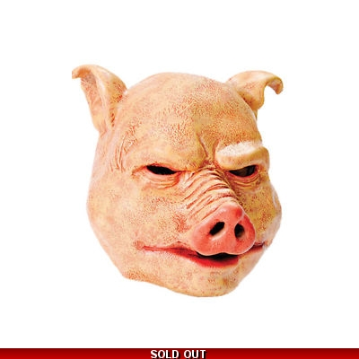 Horror Pig Mask - Purge Style title=
