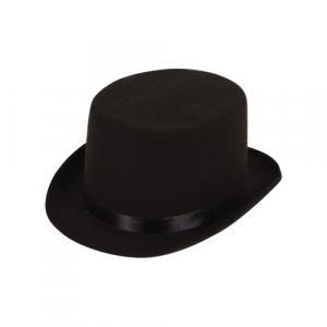 Top Hat - Black Felt