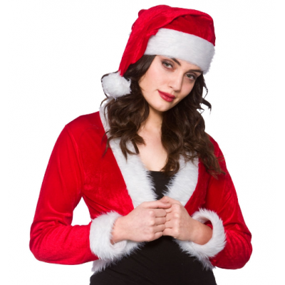 Cute Santa Shrug and Hat title=