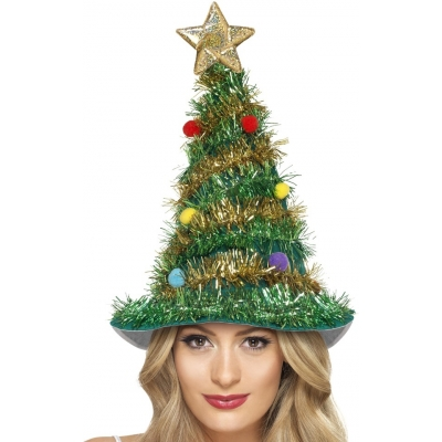 Christmas Tree Hat title=