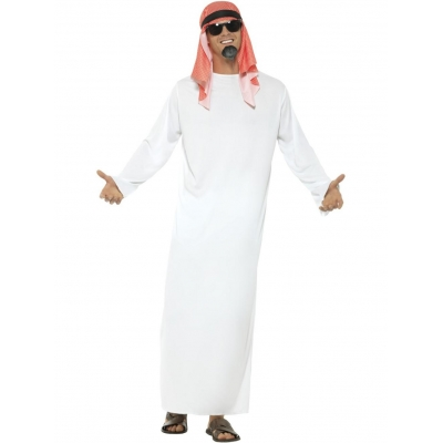 Fake Sheikh Costume title=