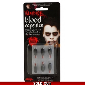 Vampire Liquid Blood Capsules