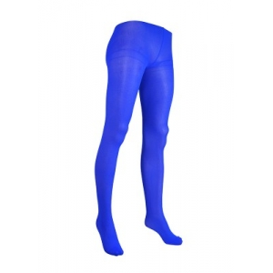 Opaque Tights - Blue