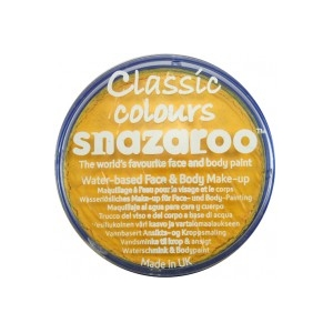 Snazaroo - Bright Yellow 18ml