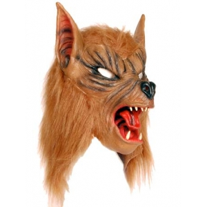 Werewolf Mask - Brown