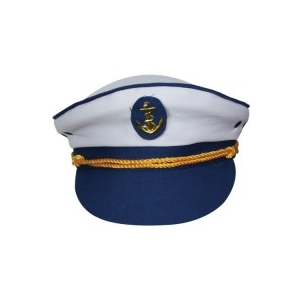 Captain's Hat - Blue