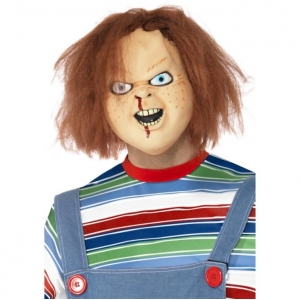 Chucky Mask with Hair - Officially Lic..
