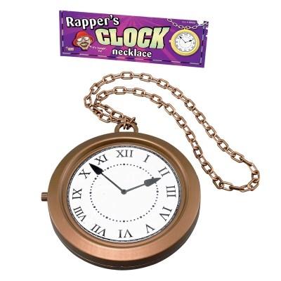Big Clock Medallion Rapper Style