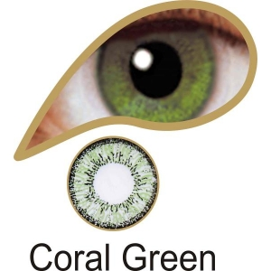 Coral Green - 3 Month Lenses