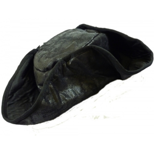 Distressed Pirate Hat - Black