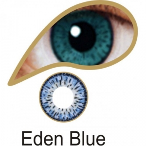 Eden Blue Contact Lenses 3 Month