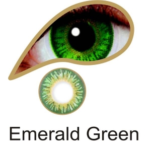 Emerald Green - 3 Month Lenses