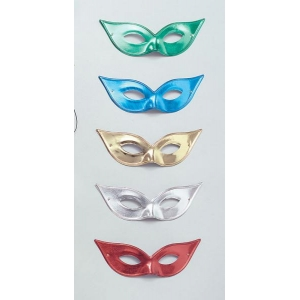 Flyaway Metallic Domino Eye Mask