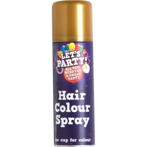 Gold Colour Hair Spray