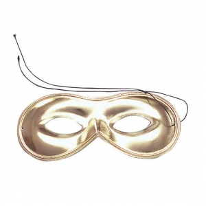 Gold Domino Eye Mask