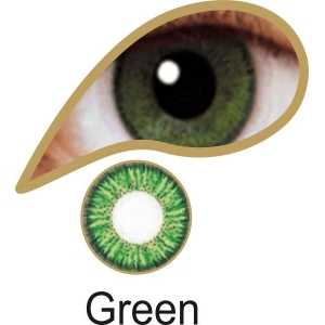 Green Contact Lenses 3 Month