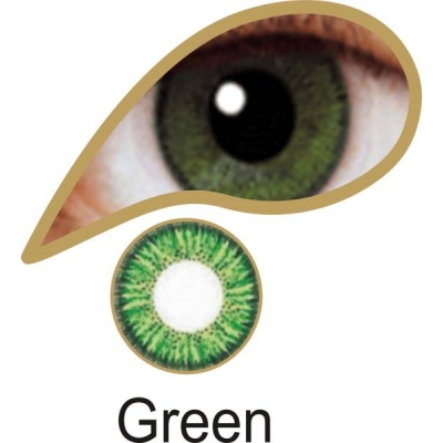 Green - 1 Day Lenses title=