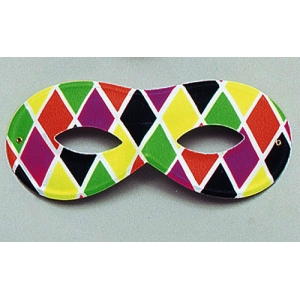 Harlequin Eye Mask - Small