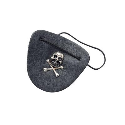 Pirate Leather Eyepatch title=