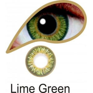 Lime Green - 3 Month Lenses