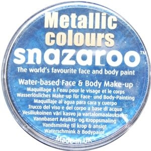 Snazaroo - Metallic Electric Blue 18ml
