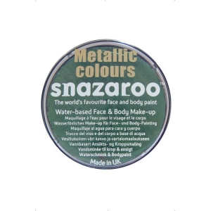 Snazaroo - Metallic Electric Green 18ml