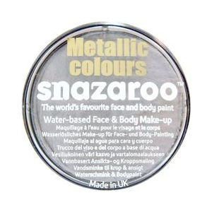 Snazaroo - Metallic Silver 18ml