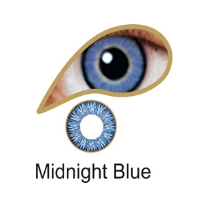 Midnight Blue Lenses 3 Month