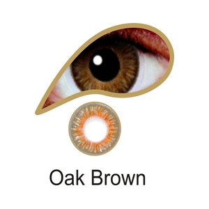 Oak Brown - 3 Month Lenses
