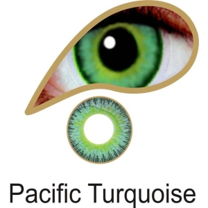 Pacific Turquoise - 3 Month Lenses