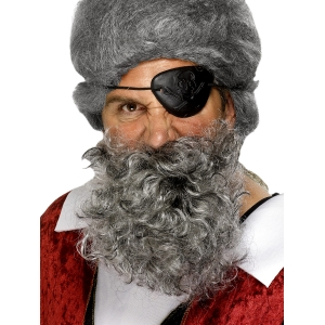 Pirate Beard - Grey
