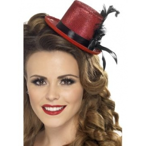 Mini Top Hat - Red