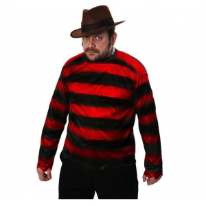 Red & Black Striped Jumper - Freddy Kr..