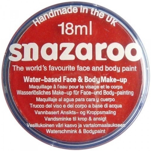 Snazaroo - Bright Red 18ml