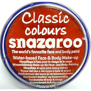 Snazaroo - Dark Orange 18ml