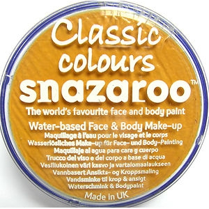 Snazaroo - Ochre Yellow 18ml